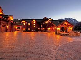 luxury listing mammoth lake log cabin estate wfg national title