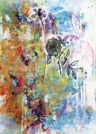 saatchi art flowers in the garden painting by sarah lown