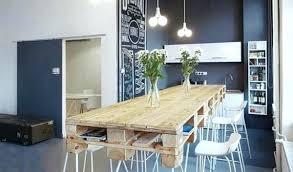 pieds cuisine table de cuisine contemporaine pied table cuisine table en palette