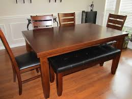 dining room tables with bench dining rooms charming dining room bench as well as dining room