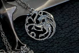 dragon necklace pendant images Game of thrones house targaryen silver dragon pendant necklace jpg