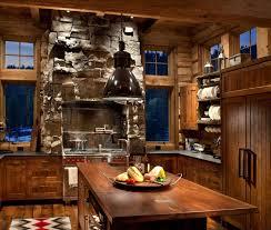 cuisines rustiques bois cuisine et bois la cuisine rustique contemporaine au centre