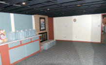finish basement walls new in innovative wall finishing