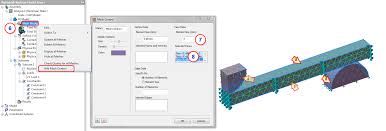 generate online guid section 19 flexural test fixture exercise nastran in cad