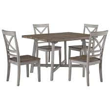 Outdoor Table And Chair Standard Furniture Fairhaven Rustic Two Tone Table And Chair Set