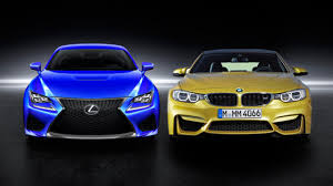 new lexus coupe rcf price lexus rc f vs bmw m4 fight