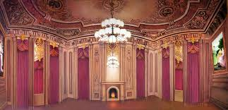 King Of Backdrops Victorian Palace Ballroom Scenic Stage Backdrop Rental Theatreworld