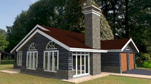 elegant three bedroom bungalow house plan david chola architect