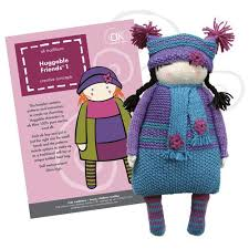 huggable friends dolls to cuddle knitted kits ak traditions