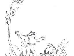 download frog toad coloring pages ziho coloring