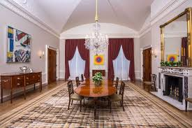 trump oval office rug michelle obama redecorated a white house room u2014 and it u0027s much more