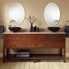 vessel sinks bamboo vanity cabinet stone vessel unusual sink