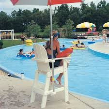 tailwind lg500 recycled plastic lifeguard chair pool equipment