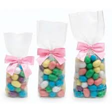candy bags frosted candy bags cardboard bottom box and wrap