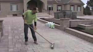 Quikrete Hardscapes Polymeric Jointing Sand by How To Install Envirosand Available At Home Depot Youtube