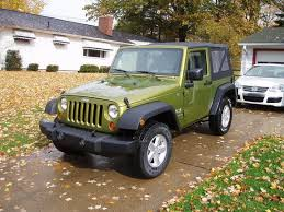2007 green jeep wrangler crb0247 2007 jeep wrangler specs photos modification info at
