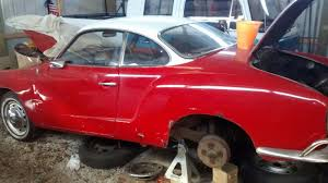 1972 karmann ghia karmann ghia behind the shed find