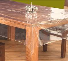 home design captivating transparent dining table covers kc 6090o