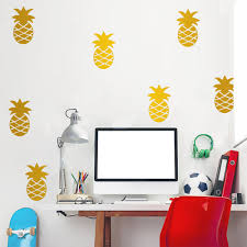 28 funlife wall stickers funlife 100x80cm 39x32in on wall funlife wall stickers funlife pineapple removable wall decals for nursery