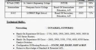 Sample Resume For Ccna Certified by Sample Resume For Freshers Ccna Resume Ixiplay Free Resume Samples