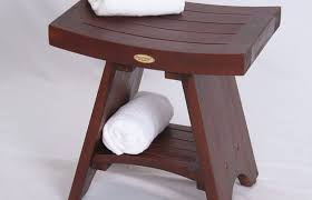 Wooden Bench For Shower Bathroom Small Bench For Bathroom Chair Shower Seat Bath Folding