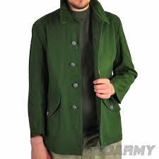 vintage military green field jacket swedish army at goarmy
