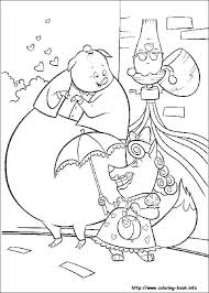 chicken little coloring picture disney coloring pages