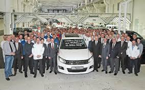 one millionth volkswagen tiguan rolls off line at wolfsburg plant