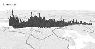 Map Of New York And Manhattan by Exploring Manhattan With Power Map For Excel Office Blogs