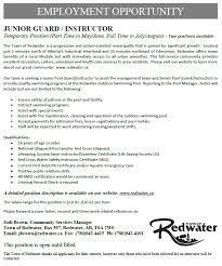 Lifeguard Job Description For Resume by Lifesaving