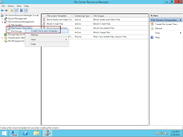 step by step manage file server using fsrm file screening in