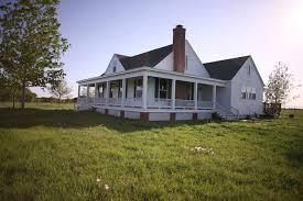 homes with wrap around porches rockin r ranch farmhouse exterior dallas by david baca