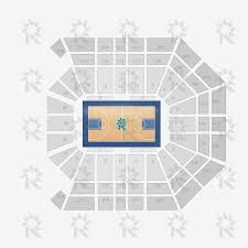 Mgm Grand Las Vegas Map by Mgm Grand Garden Arena Basketball Sports Seating Charts