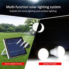 Best Outdoor Solar Led Lights by 6v 5w Solar Panel Solar System 3 Led Light Usb Charger For Indoor