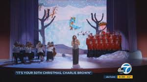 50th anniversary of u0027a charlie brown christmas u0027 to be celebrated
