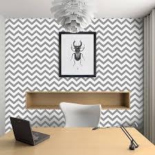 Contemporary Wallpaper Contemporary Chevron Self Adhesive Wallpaper By Oakdene Designs