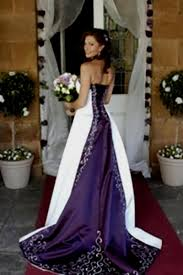 purple and orange wedding dress camo wedding dresses naf dresses
