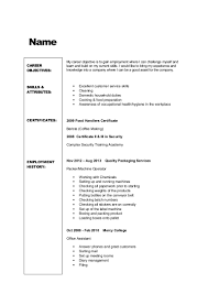 Resume Sample Machine Operator by Resume Template Tailored Workforce