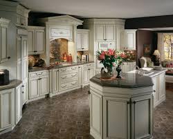 Kitchen Glazed Cabinets Antiquing White Kitchen Cabinets With Glaze Saomc Co