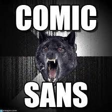 Wolf Meme - comic insanity wolf meme on memegen