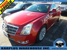 2011 cadillac cts premium for sale 2011 cadillac cts coupe 2dr coupe premium rwd for sale in pacoima