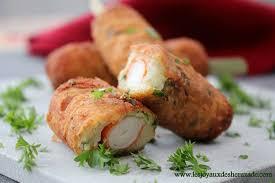 cuisiner le surimi croquettes de pommes de terre surimi les joyaux de sherazade