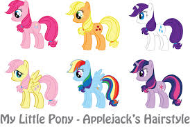 applejack hairstyles mlp applejack s hairstyle by vonborowsky on deviantart