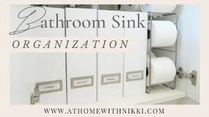 how to organize under the bathroom sink diy small space