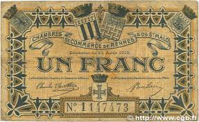 1 franc regionalism and miscellaneous rennes et malo