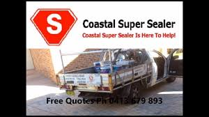 Flo Coat Resurfacer by Stencilcrete Driveway Restoration Services Sydney South Youtube