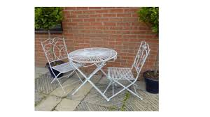 table and 2 chairs set antique grey vintage garden bistro table and 2 chairs homegenies
