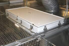 Clean Room Light Fixtures 2 Wg Gasket Seal Grid System Gordon Inc