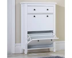 shoe cabinet with drawer two tier shoe cabinet
