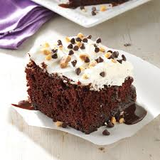 chocolate fudge cake taste of home